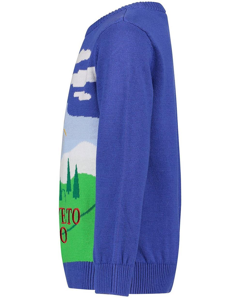 Truien - BLD - Lavendelblauwe trui